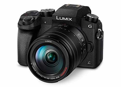 Panasonic DMC-G70HEG-K Systemkamera (16 Megapixel, 4K Video, 7,5 cm (3 Zoll) Touchscreen, WiFi) mit Objektiv Lumix G (14-140mm/F3,5-5,6) Power OIS schwarz