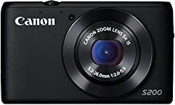 Canon Powershot S200 Camera (10.1 Mp,5 X Optical Zoom) 3-inch Lcd