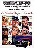 El Rolls Royce Amarillo (1964) The Yellow Rolls Royce Director: Anthony Asquith. Actores: Ingrid Bergman, Rex Harrison, Alain Delon, George C. Scott, Jeanne Moreau, Omar Sharif.