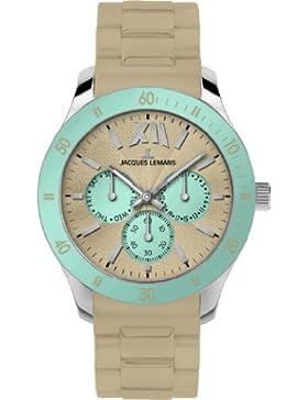 Jacques Lemans Sports Unisex-Armbanduhr Rome Sports Analog Silikon 1-1691I