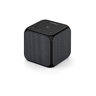Sony SRS-X11 Bluetooth Lautsprecher, 5 Watt, tragbar und kabellos, NFC, Bluetooth, verkoppeln mit weiterer X11 für Stereosound, schwarz