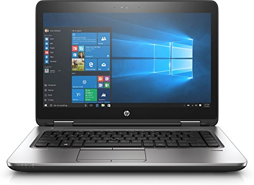 HP ProBook 640 G3 (14 inch) Notebook Core i5 (7200U) 2.5GHz 4GB RAM 256GB SSD DVD-Writer WLAN Bluetooth Webcam Windows 10 Pro 64-bit (HD Graphics 620) (Certified Refurbished)