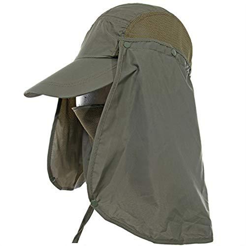 Leisial Sombrero Pesca Sol Gorra Aire Libre Protección