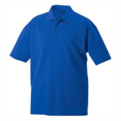 JAMES & NICHOLSON Polohemd aus hochfunktionellem CoolDry® Royal