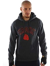 Kronk Detroit Men/'s Crew neck sweatshirt Boxing Charcoal