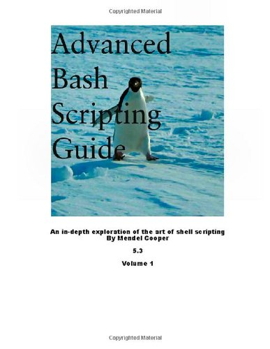 Advanced Bash Scripting Guide 5.3 Volume 1