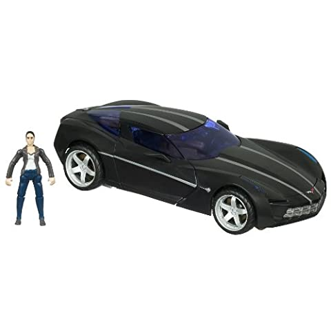 Transformers - 21159 - Human Alliance - Hunt for the Decepticons - Level 4 - Voyager Class - Shadow Blade Sideswipe (ca 15cm) und Mikaela Banes (ca. 6 cm)