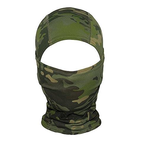 WINOMO Radfahren Gesichtsmaske Camouflage Hood Outdoor Motorrad Helm Liner Gear Full Face Maske (Dschungel Camouflage)