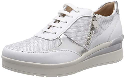 Stonefly Cream 12 Nappa/Textile, Zapatillas para Mujer, Blanco White 010, 38 EU