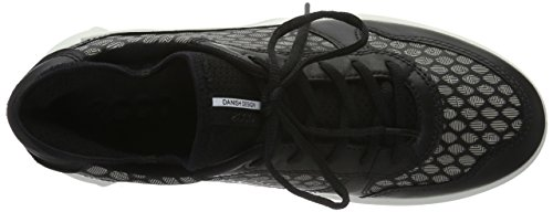 Ecco CS16 MenS, Baskets Basses Homme Noir (BLACK/WHITE50669)