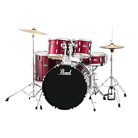 Pearl Roadshow RS525SC/C91 American Fusion Drum Kit, Red Wine