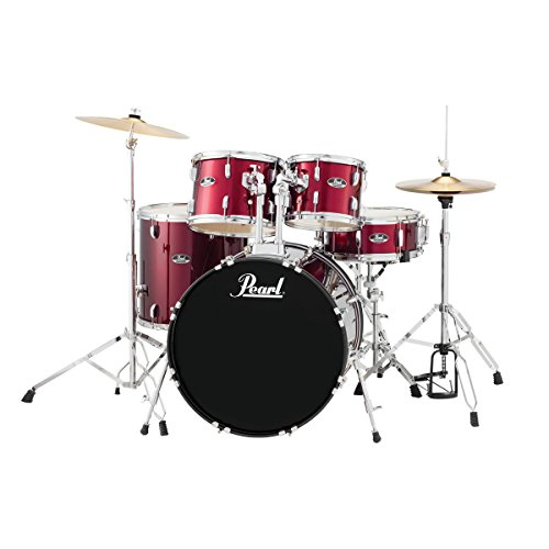 Pearl-Roadshow-RS525SCC91-American-Fusion-Drum-Kit-Red-Wine