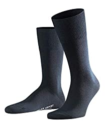 FALKE Herren Airport M SO Socken, dark navy, 43-44 (UK 8.5-9.5 Ι US 9.5-10.5)