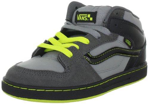 Vans Edgemont VNJ56KF, Baskets mode garçon Gris-TR-H1-87