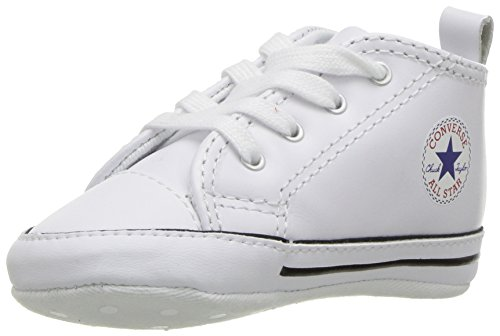 Converse First Star Cuir 022130-12-3 Unisex - Kinder Sneaker, Weiß (Blanc), 20 EU (Converse Sneakers Baby)