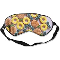 Summer Pineapple Pattern 99% Eyeshade Blinders Sleeping Eye Patch Eye Mask Blindfold For Travel Insomnia Meditation preisvergleich bei billige-tabletten.eu