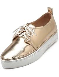 ZQ YYZ Zapatos de mujer-Tac¨®n Plano-Puntiagudos-Planos-Vestido / Casual / Fiesta y Noche-Purpurina-Negro / Azul , blue-us10.5 / eu42 / uk8.5 / cn43 , blue-us10.5 / eu42 / uk8.5 / cn43