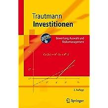 Investitionen (Springer-Lehrbuch)