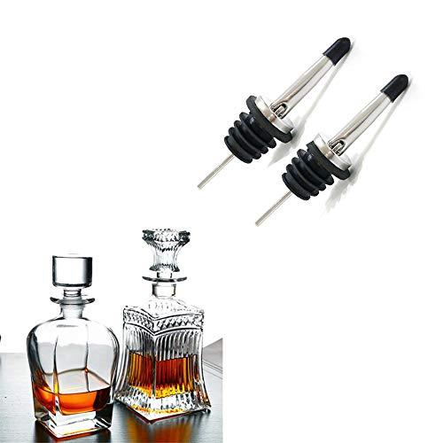 GUOQY-una rociada de un licor de aceite de oliva, un dispensador de acero inoxidable con rociada, y un tapón de vino con soda