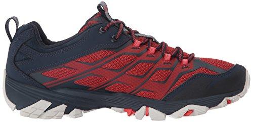 Merrell Moab Fst, Stivali da Escursionismo Uomo Blu (Navy/dark Red)
