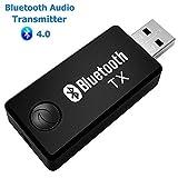 Artbest USB Bluetooth Émetteur, Adaptateur Musique Stéréo Sans Fil Dongle Audio...