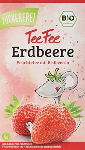 TeeFee Bio Früchtetee mit Himbeere, 5er Pack (5x20 Teebeutel) | Kindertee |...