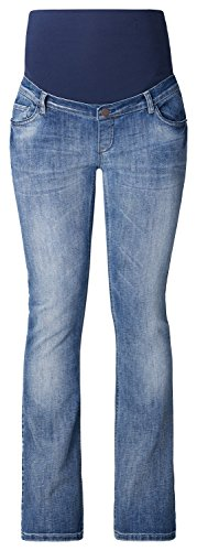ESPRIT Maternity Damen Boot-Cut Umstands Jeans U8C011 Blau (Lightwash 950)