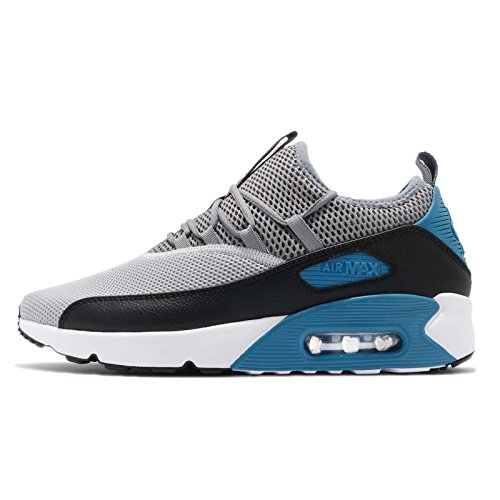 41MDLNNLtxL. SS500  - Nike Mens Air Max 90 EZ Running Shoes Wolf Grey/Cool Grey/Black/Laser Blue AO1745-004 Size 13