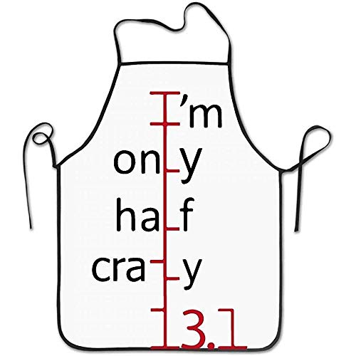 ouyjian Waterproof Apron Marathon Runner Deluxe Cooking Aprons,Funny Fashion Chef Apron Applies to Men and Women