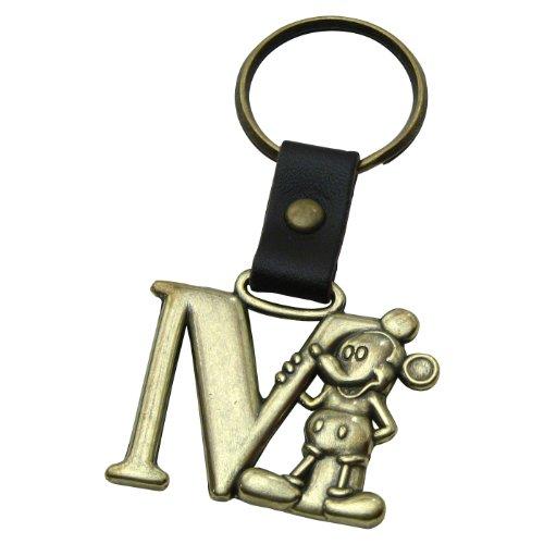 M Messing Schlüsselanhänger (Disney Mickey Schlüsselanhänger)