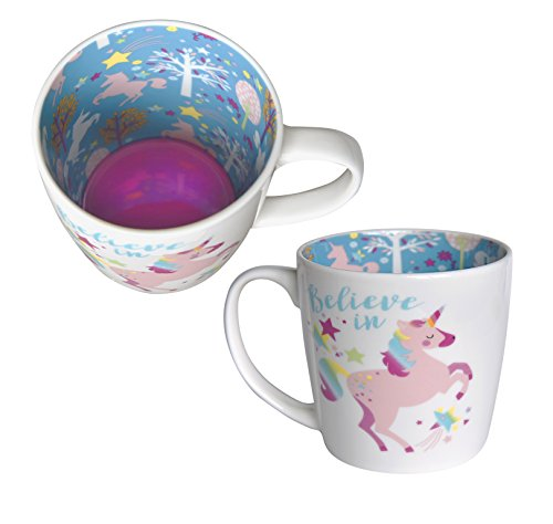 Believe in Unicorns Ceramic Mug - printed inside and out