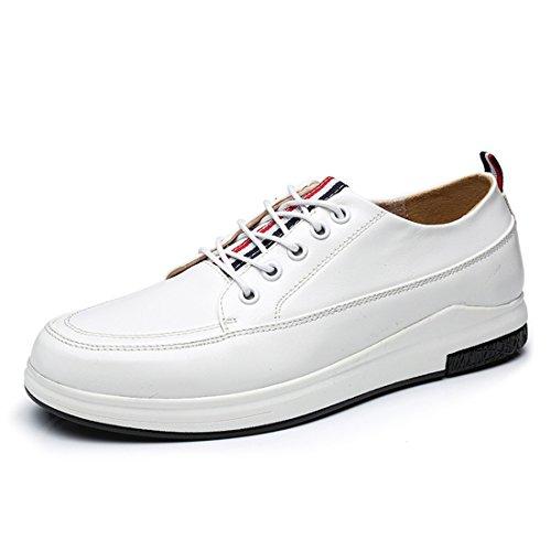 HENGJIA Herren Freizeitliche Arbeitsschuhe Klassischer Schnürhalbschuh Oxford-Schuh 552 Braun