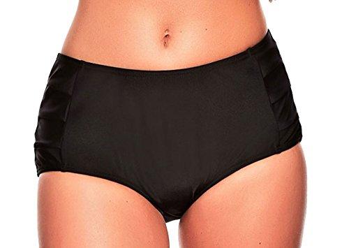 Bikini modellante con pantaloni in diversi colori oct-mar-S10-f3756 Slip Schwarz (1187) 46