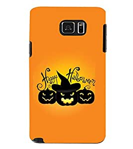 TOUCHNER (TN) Halloween Back Case Cover for Samsung Galaxy Note 5 N920