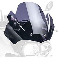Carbon Look Medium Puig 6401C Windschutzscheibe Cockpitverkleidung f/ür Kawasaki Z800 2013-2014