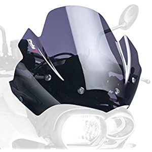 Windscreen Puig for BMW K 1200 R 05-08 dark smoke