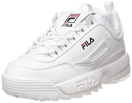 Fila Wmn Disruptor Low 1010746-1fg, Zapatillas para Mujer, Blanco White 1010746/1fg, 37 EU
