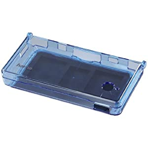 Crystal Case für Nintendo DSi, Transparent-Blau