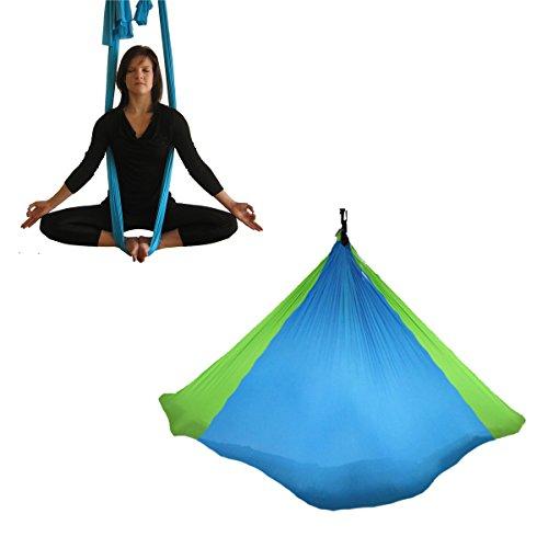 Amaca oscillante per aerial yoga - tessuto per antigravity yoga