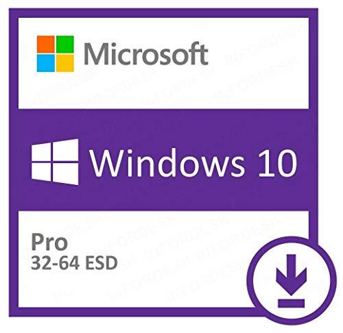 Microsoft Windows 10 Pro - Sistemas operativos (Electronic Software Download (ESD), 1 licencia(s), 20 GB, 2 GB, 1 GHz, 800 x 600 Pixeles)