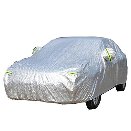 JZQ Autoabdeckung Mercedes-Benz Thick Sunscreen Car Protection Cover Regendichte, tragbare Autokleidung (Color : S350L)