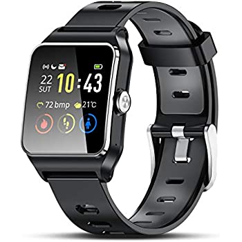 PHIPUDS Smartwatch, IP67 Impermeable Reloj Inteligente Hombre ...