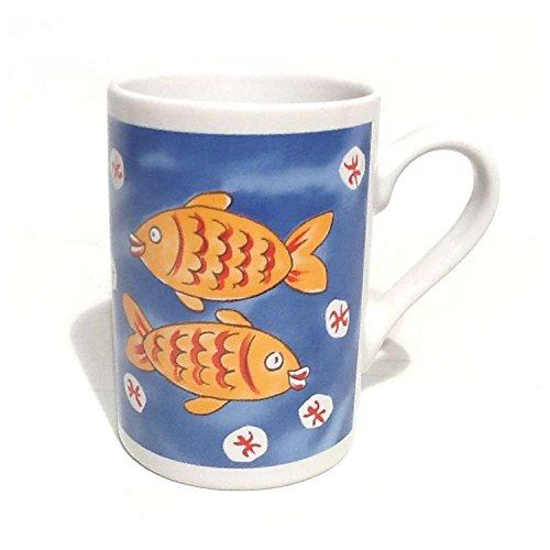 41MDYdEzYpL Sternzeichen Fische Kaffeetasse Becher Tasse