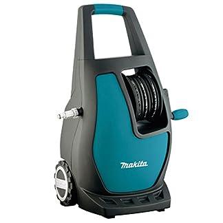Makita HW111 Compacto Eléctrico 370l/h 1700W Negro, Turquesa Limpiadora de alta presión o Hidrolimpiadora – Limpiador de alta presión (Compacto, Eléctrico, 5,5 m, 5 m, Negro, Turquesa, 370 l/h)