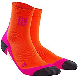 CEP Dynamic Short Calcetines, mujer, Socken Dynamic Short Socks, naranja