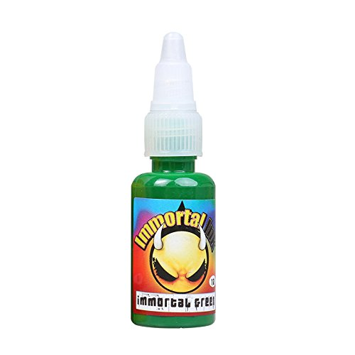pply USA Brand Immortal Tattoo Ink 0.5oz (15 ml) (Green) SL118-6 (Usa Temporäre Tattoos)