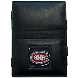 NHL Montreal Canadiens Genuine Leather Jabob's Ladder Magic Wallet