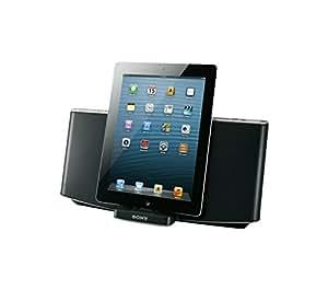 Sony RDP-X200IPN Bluetooth Docking-Lautsprecher für Apple iPod/iPhone 5 schwarz