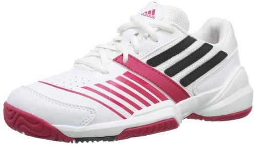 adidas Galaxy Elite III K D65994, Scarpe da tennis Unisex - bambino Bianco (Weiß (RUNNING WHITE FTW / NIGHT SHADE F13 / VIVID BERRY S14)