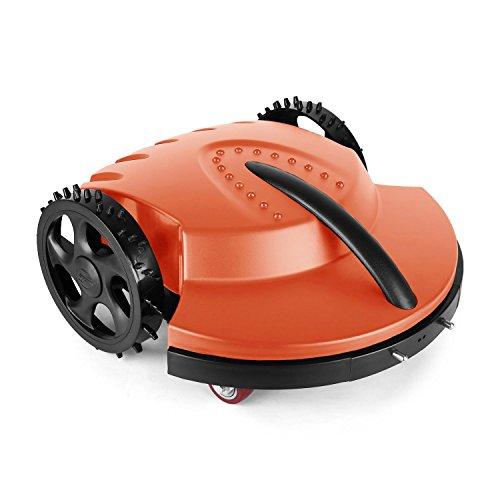 oneConcept Garden Hero Rasenmähroboter • Rasenmäher • Robotermäher • bis 1.500 m² • Akku: max. 3 Stunden • Edelstahlklingen • Umgebungssensor • Regensensor • Schutzgrad IPX6 • 3 oder 4 cm Schnitthöhe • Begrenzungskabel: 100m • Fernbedieung • orange